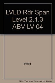 LVLD Rdr Span Level 2.1.3 ABV LV 04 (Spanish Edition): Read