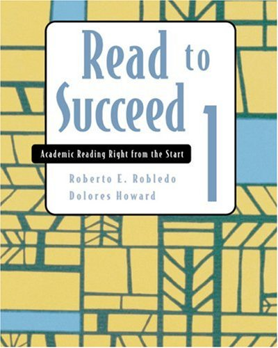 9780618324705: Read to Succeed 1: Academic Reading Right from the Start