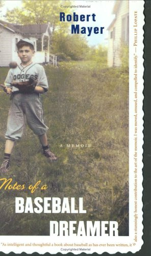 9780618329618: Notes of a Baseball Dreamer: A Memoir