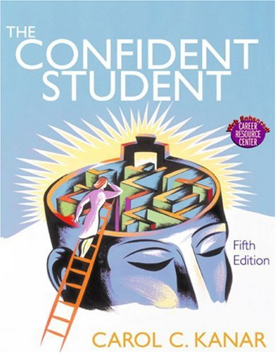 9780618333530: The Confident Student (5th Edition)