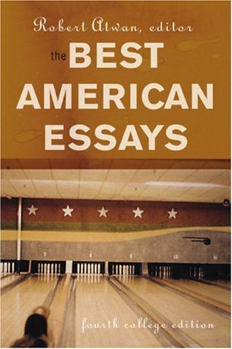 atwan the best american essays Read a free sample or buy the best american essays 2017 by leslie jamison & robert atwan you can read this book with ibooks on your iphone, ipad, ipod touch, or mac.