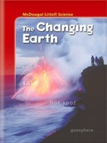 9780618334247: The Changing Earth (McDougal Littell Middle School Science)