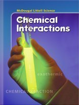 9780618334384: CHEMICAL INTERACTIONS -LIB (Life, Earth and Physical Science)