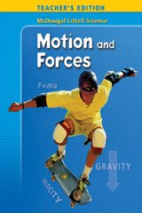 9780618334438: McDougal Littell Science: Motion and Forces, Teacher's Edition