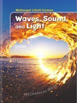 9780618334469: McDougal Littell Middle School Science: Student Edition Grades 6-8 Waves, Sound & Light 2005