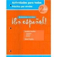 En Espanol 2: Actividades Para Todos (Spanish Edition): McDougal Publishing Staff