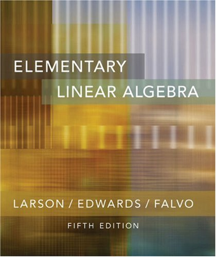 9780618335671: Element Linear Algebra 5e