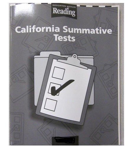 9780618336715: Houghton Mifflin Reading California: Summative Tests Consumable Complete (Set of 25 and Teacher Manual) Grade 3