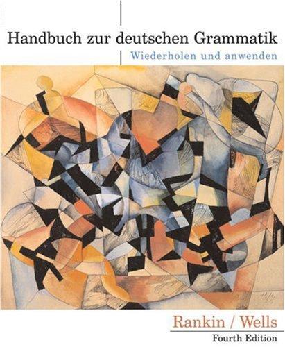 9780618338122: Handbuch zur deutschen Grammatik: Wiederholen und anwenden