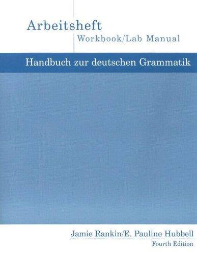 9780618338139: Handbuch Zur Deutschen Wkbk 4e