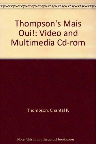 9780618338214: Mais Oui! Video And Multimedia Cd-Rom: Used with ...Thompson - Mais oui!