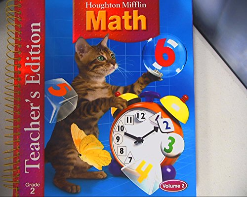 9780618338627: Houghton Mifflin Math: Grade 2, Teacher's Edition, Volume 2
