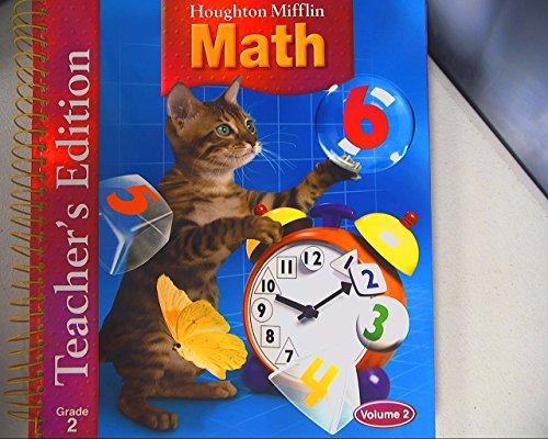 9780618338627 Houghton Mifflin Math Grade 2, Teacher\u0027s Edition Houghton Mifflin Grammar Worksheets 9780618338627 Houghton Mifflin Math Grade 2, Teacher\u0027s Edition, Volume 2