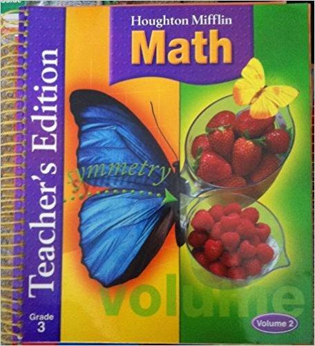 9780618338641: Houghton Mifflin Math, Teacher's Edition, Grade 3, Vol. 2
