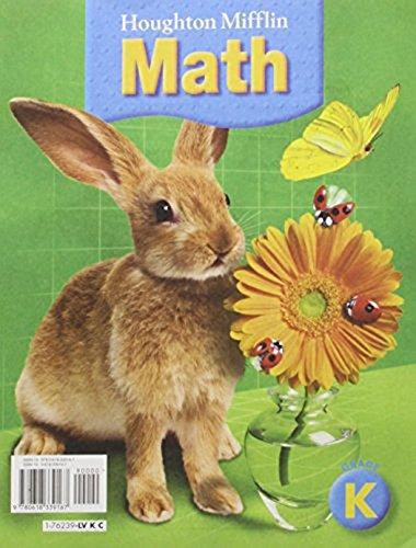 9780618339167: Houghton Mifflin Math © 2005: Student Edition, 9 Volume Set Grade K 2005
