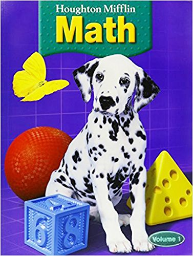 9780618339587: Houghton Mifflin Math © 2005: Student Edition, 5 Volume Set Grade 1 2005