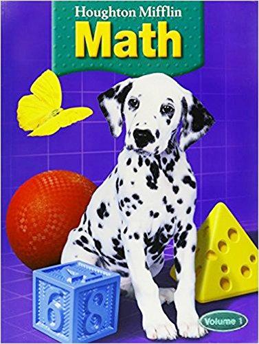 9780618339594: Houghton Mifflin Math, Grade 1, Vol. 1, Units 1-2