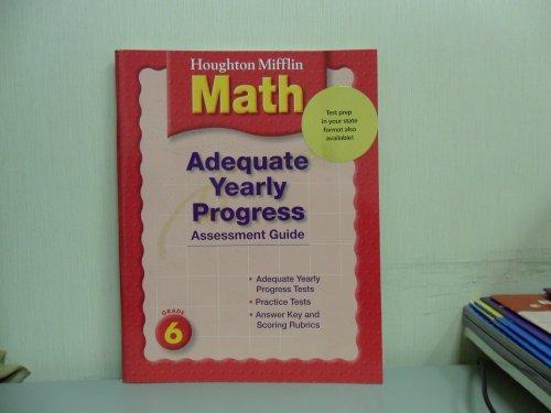 Ayp Test Preparation Book Level 6: Houghton Mifflin Mathmatics (Hm Math 2005): Corporate ...
