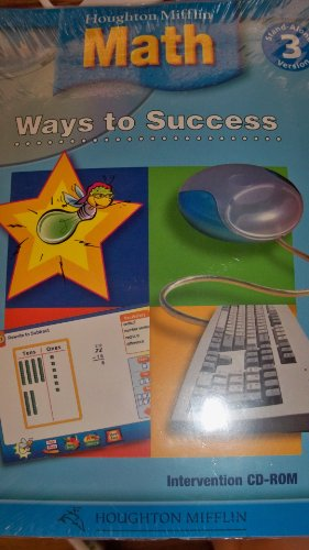 9780618340156: Houghton Mifflin Mathmatics: Ways To Success Cd-Rom Lv 3