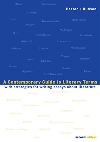 9780618341627: A Contemporary Guide to Literary Terms: With Strategies for Writing Essays About Literature