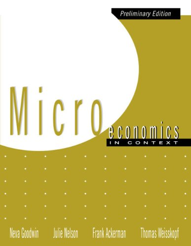 9780618343157: Microeconomics in Context (Preliminary Edition)