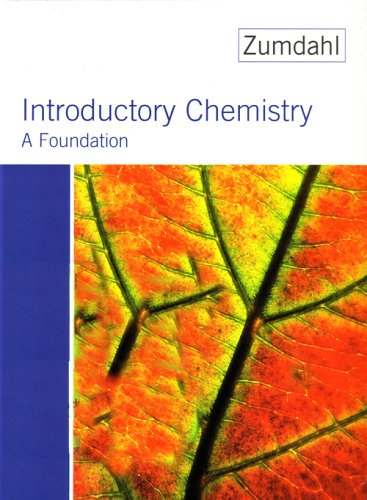 9780618343423: Introductory Chemistry: A Foundation