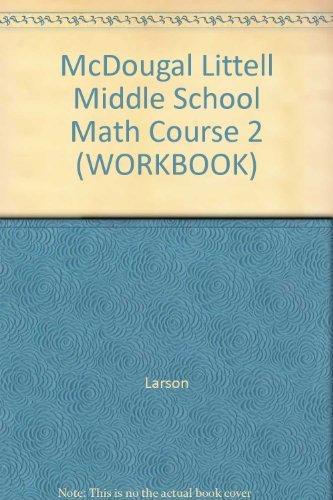 9780618343614: Mathematics: Practice Workbook Course 2, Teacher's Edition (McDougal Littell Middle School Math, Course 2)