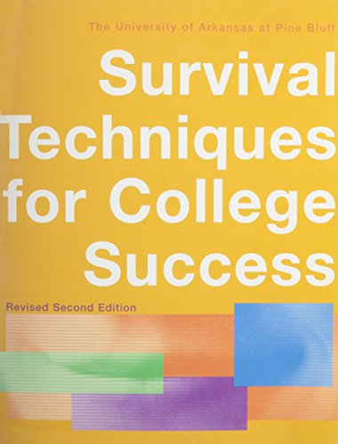 Survival Techniques Revised, Second Edition, Custom Publication: WALKER