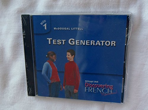 Test Generator Bleu 1 Cd-rom (Discovering French): staff