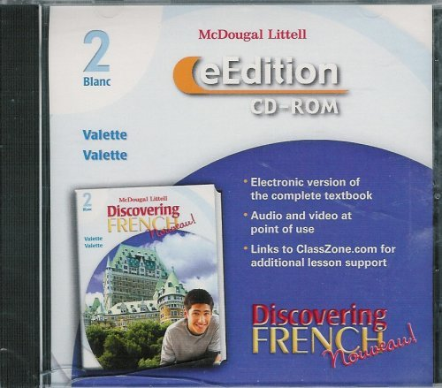 9780618345267: Discovering French Nouveau! Blanc: Test Generator