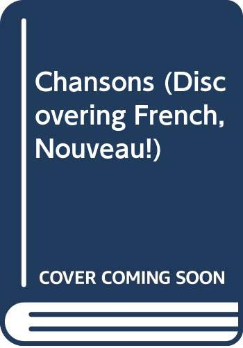 9780618345359: Discovering French Nouveau: Chansons CD All Levels