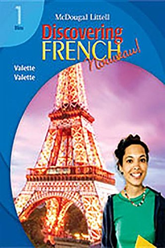 9780618345373: Discovering French, Nouveau!: Audio CD Program Level 1