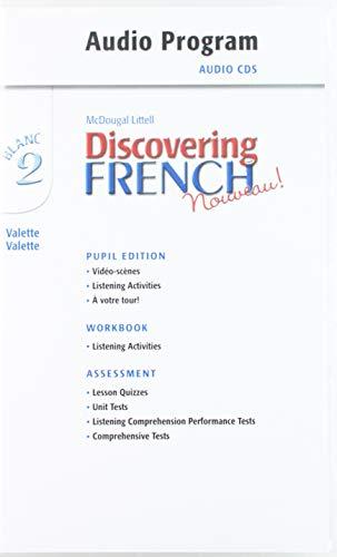 Discovering French, Nouveau!: Audio CD Program Level 2: MCDOUGAL LITTEL