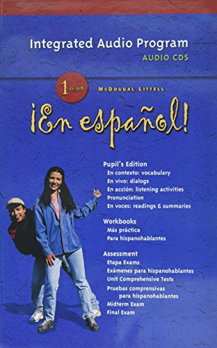 9780618345410: En Espanol! Integrated Audio Program, Level 1 (¡En español!) (Spanish Edition)