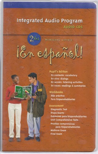 9780618345526: ¡En español!: Audio CD Program Level 2 (Spanish Edition)