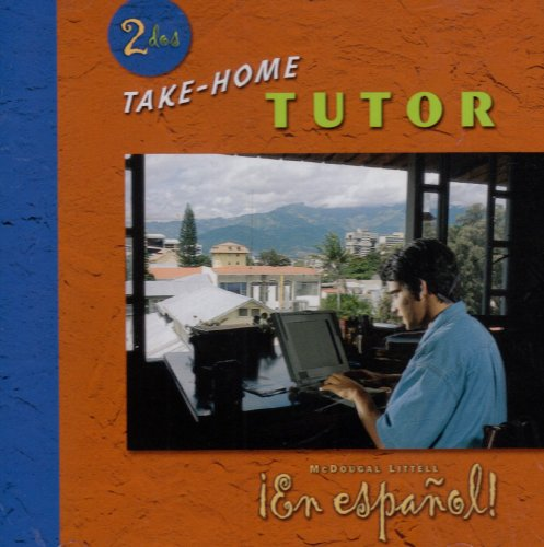 9780618345588: ¡En español!: Take-home Tutor CD-ROM Level 2 (Spanish Edition)