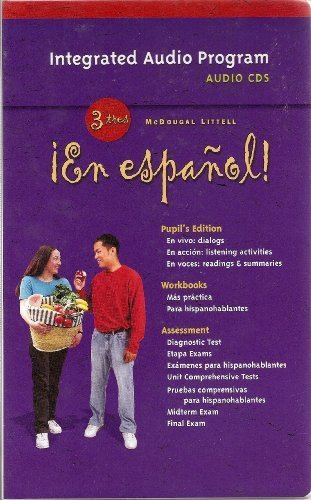 9780618345625: En espanol! Audio Program, Level 3 (¡En español!) (Spanish Edition)