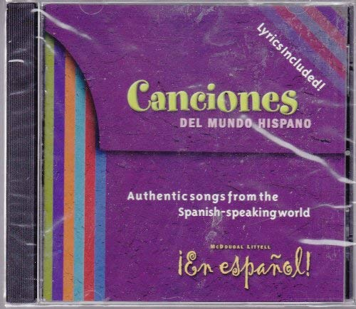 9780618345724: En Espanol! Canciones (Authentic Songs from Spanish-Speaking World)