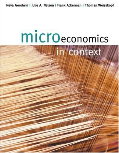 9780618345991: Microeconomics In Context