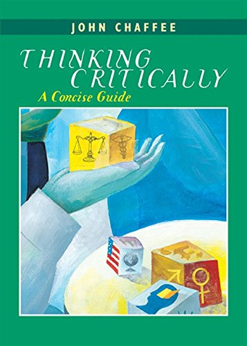 9780618348824: Thinking Critically: A Concise Guide