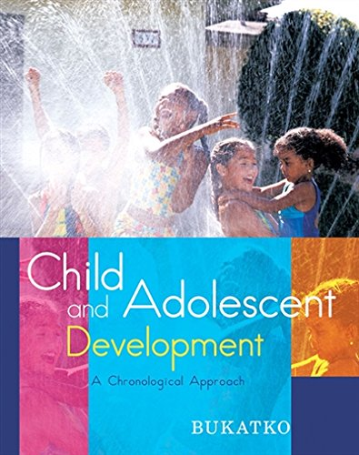 9780618349203: Child and Adolescent Development: A Chronological Approach