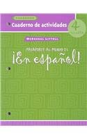 9780618349340: ?En Espa?ol!: Cuaderno de Actividades (Workbook) Level 4