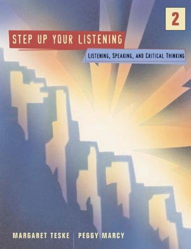 9780618353064: Step Up 2: Listening, Speaking, and Critical Thinking