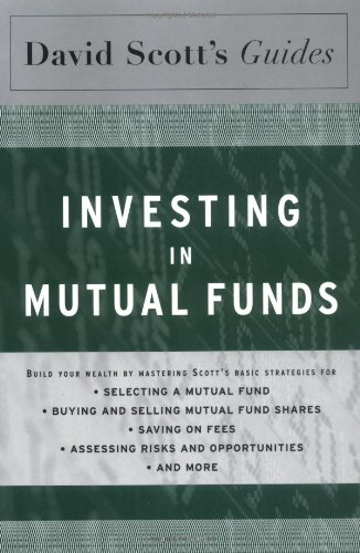 9780618353286: David Scott's Guide to Investing In Mutual Funds