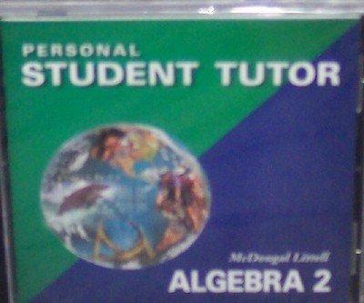 9780618353408: McDougal Littell Algebra 2: Personal Student Tutor CD-ROM