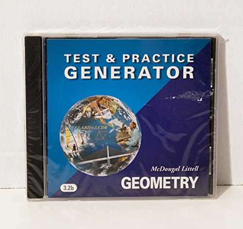 9780618353477: McDougal Littell High Geometry: Test and Practice Generator CD-ROM