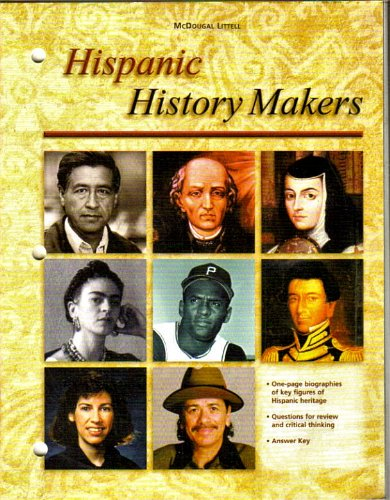 9780618354733: McDougal Littell The Americans: Hispanic Historymakers Grades 9-12