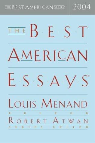 9780618357062: The Best American Essays 2004 (The Best American Series)