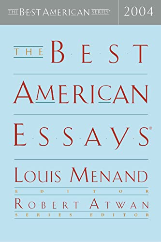 9780618357093: The Best American Essays 2004 (The Best American Series)