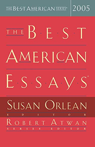 9780618357130: The Best American Essays 2005 (The Best American Series)